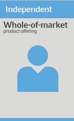 Independent - Whole of the market product offering